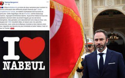 Déclaration de Patrice Bergamini : «Avec Nabeul et pour la Tunisie»