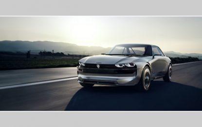 Le Peugeot e-Legend Concept présenté au Mondial de Paris 2018