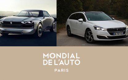 Peugeot présente 3 premières mondiales au Mondial de l'Auto Paris 2018