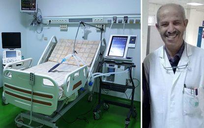 Pr Jemel, chef de service de neurochirurgie à la Rabta n'en peut plus