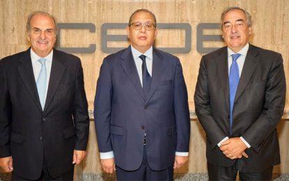 Madrid : Entretiens de Samir Majoul avec des responsables espagnols