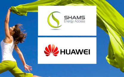 Onduleurs photovoltaïques : Partenariat Shams Technology et Huawei