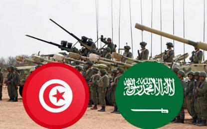 Manœuvres militaires aériennes tuniso-saoudiennes en Tunisie