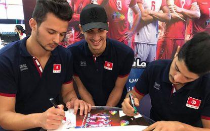 Pleins feux de Tunisie Telecom sur l'équipe de Tunisie de volleyball