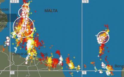Météo : De fortes intempéries attendues sur les côtes est de la Tunisie