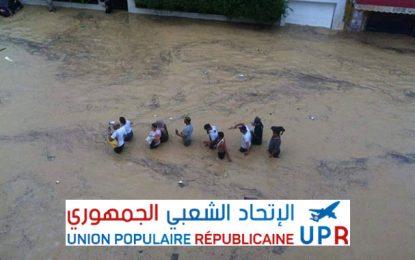 L'UPR pour une commission d'enquête sur les inondations du Cap Bon