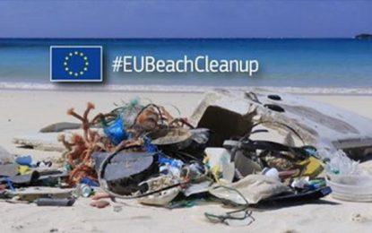 Campagne de nettoyage de la plage de La Goulette, samedi 15 septembre