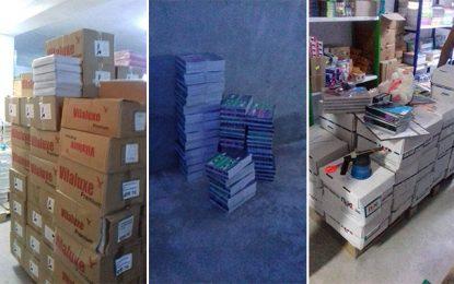 Spéculation : Saisie de 9.000 cahiers subventionnés à Medina Jedida
