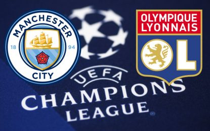 Man City-Lyon live streaming : Ligue des champions 2018-2019