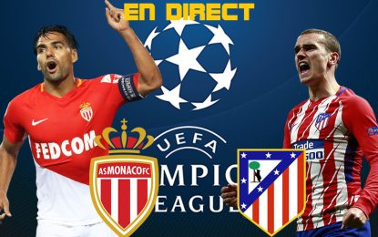 AS Monaco-Atlético Madrid live streaming : Ligue des champions 2018-2019