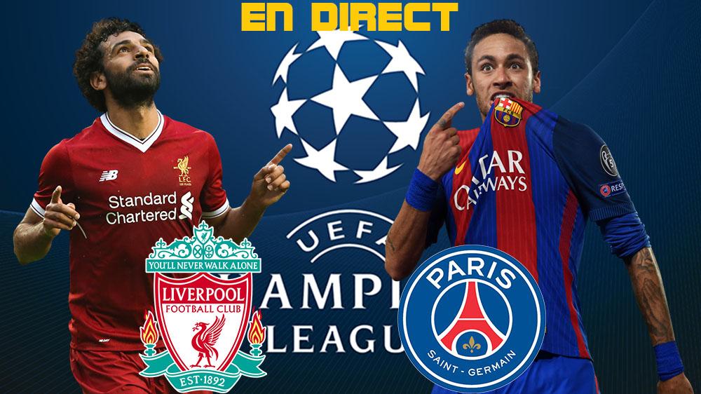 Psg Liverpool Ligue Des Champions Streaming Live League