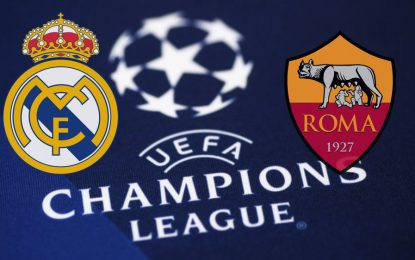 Real Madrid-AS Roma live streaming : Ligue des champions 2018-2019