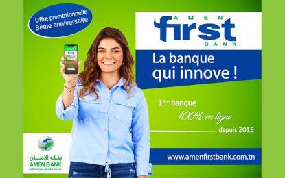 Amen First Bank lance la promotion de son 3e anniversaire