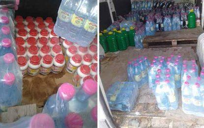Ariana : Saisie de 20.000 litres d'eau de rose dans un entrepôt