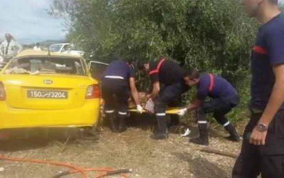 Tunisie : Un accident de la route fait 6 morts sur la route de Béja