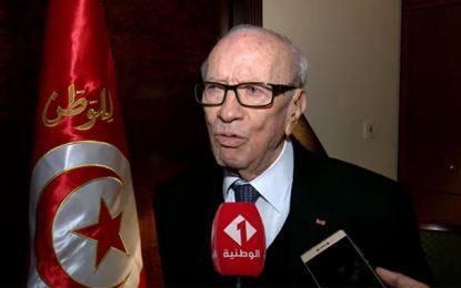 La réaction irresponsable du premier responsable des malheurs des Tunisiens