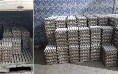 Spéculation : Plus de 18.000 œufs saisis à El-Mourouj