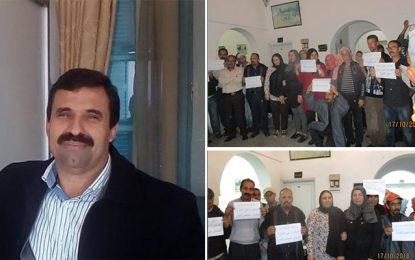 Soutien au maire de Haffouz, agressé par un vendeur ambulant