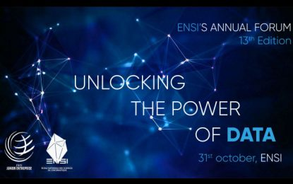 13e Forum annuel de l'Ensi : «Unlocking the power of data»