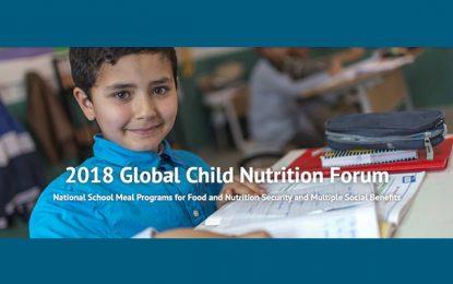 La Tunisie abrite le 20e Forum mondial sur la nutrition infantile