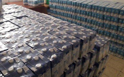 Spéculation : Plus de 3.500 paquets de lait saisis à Kasserine