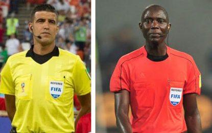 Ligue des champions : Charef et Gassama arbitres des deux manches de la finale