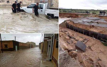 Suspension des cours à Nabeul et Zaghouan à cause des fortes pluies
