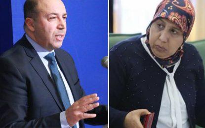 Yamina Zoghlami appelle Radhouane Ayara à démissionner