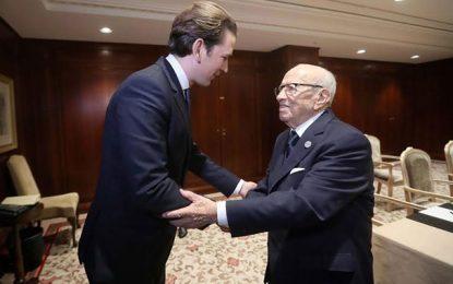 Caïd Essebsi – Kurz : Le doyen et le benjamin de la communauté internationale