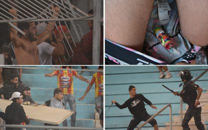 Bilan des violences de mardi dernier au stade de Radès (Photo)