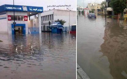 Inondations : Suspension des trains TGM et de 3 grandes lignes