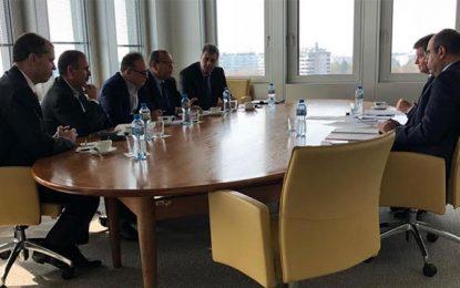 Réunion à Genève d'une délégation tripartite tunisienne au BIT