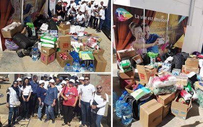 Tunisie Telecom: Caravanes de dons pour les sinistrés des inondations de Nabeul