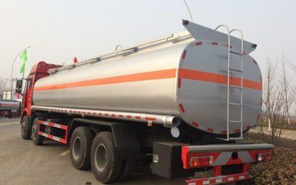 Zaghouan : 32.000 litres d'huile subventionnée dans un camion d'essence !
