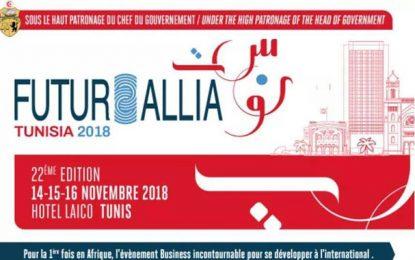 Conect international: Le 22ème Forum Futurallia TUNISIA 2018 aura lieu du 14 au 16 novembre 2018