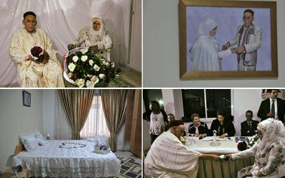 Mariage de Kharkhouta et Mohamed à la maison de retraite de Gammarth