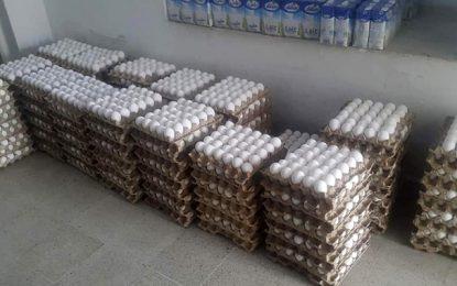 Spéculation : Saisie de plus de 80.000 œufs à Tunis