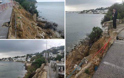 Travaux au mur de la Baie de Carthage : Appel à la vigilance