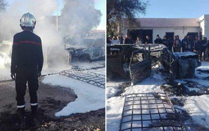 Médenine : Deux personnes meurent carbonisées dans un accident
