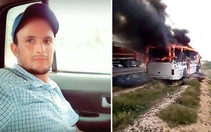 Sidi Bouzid : Ils brûlent le bus qui a causé la mort de leur proche