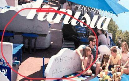 Un conseiller municipal britannique dénonce un graffiti anti-tunisien