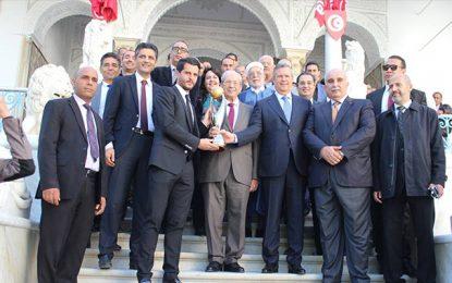 Victorieuse de la Ligue des champions, l'Espérance honorée à l'Assemblée