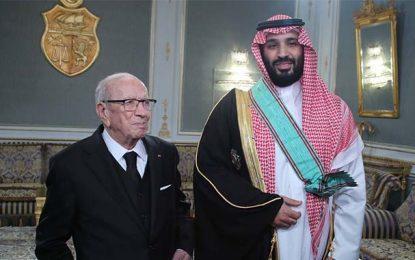 Le sulfureux prince Mohamed Ben Salman a droit aux honneurs en Tunisie