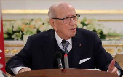 Béji Caid Essebsi : «La menace d'Ennahdha ne marchera pas avec moi»