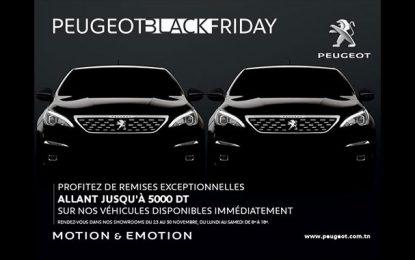 Le Black Friday de la Stafim Peugeot offre des remises exceptionnelles