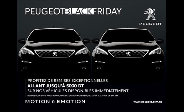 le black friday de la stafim peugeot offre des remises exceptionnelles. Black Bedroom Furniture Sets. Home Design Ideas
