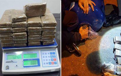 Saisie de 50 kg de cannabis à La Goulette : Une Tunisienne en détention