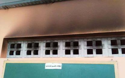 El-Haouaria : Des inconnus mettent le feu dans un lycée