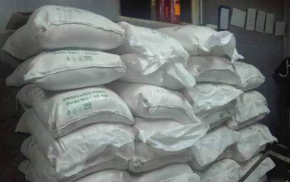 Jendouba : saisie de 4 tonnes de farine subventionnée