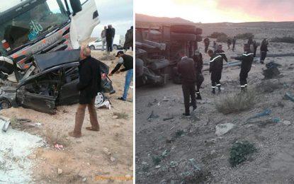 Gafsa : Décès d'une automobiliste percutée par un camion